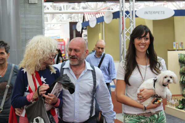 ME WITH DONATELLA RETTORE AND RADIO BAU'S VOCALIST